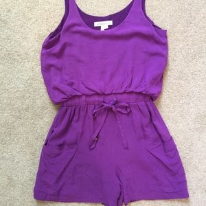 Purple BCBGeneration Romper